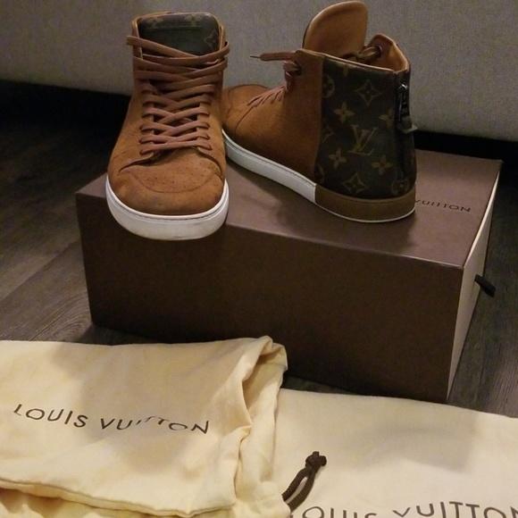 Louis Vuitton Mens High Tops